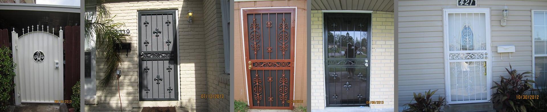 Screen Door New Orleans - Crescent Iron Works