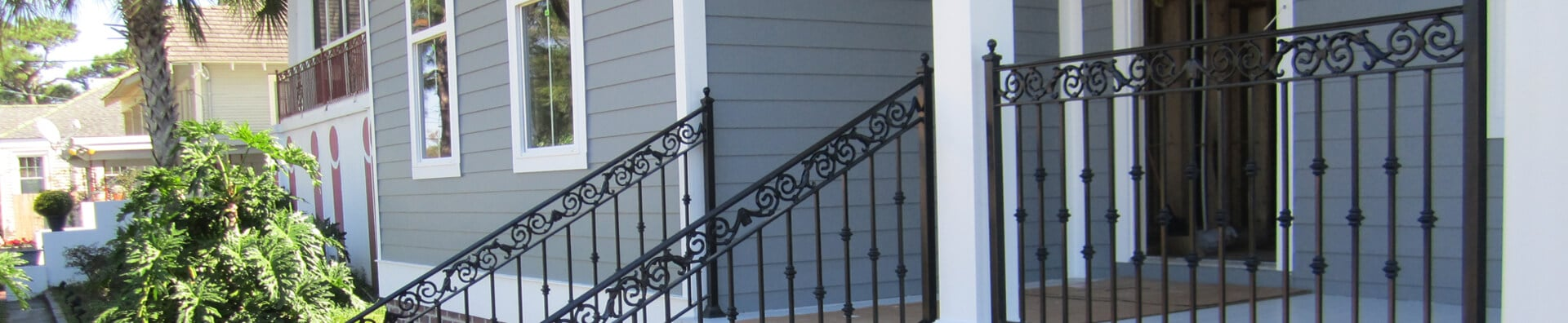 Porch Enclosures New Orleans - Crescent Iron Works