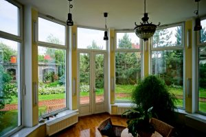 good view with French doors - Big Easy Iron Works
