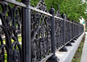 iron fence in New Orleans - Big Easy Iron Works