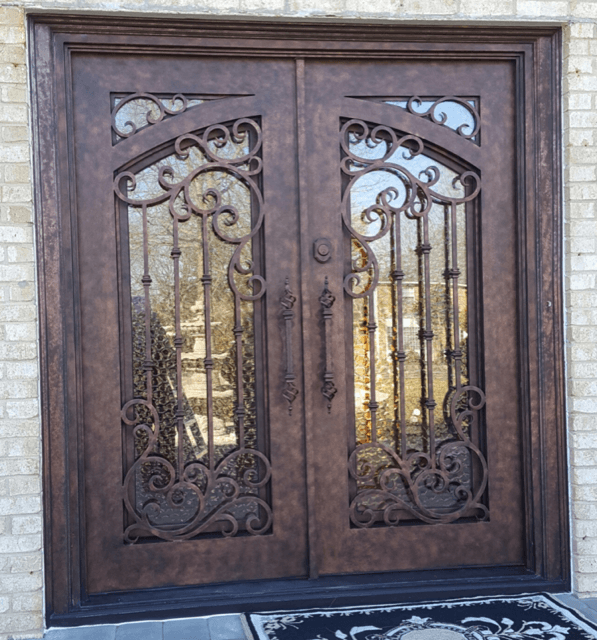 Why Upgrading to a Wrought Iron Door | Big Easy Iron Works