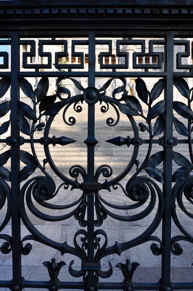wrought iron doors | Big Easy Iron Works