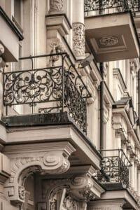 Balcony Antique Iron Value - Big Easy Iron Works